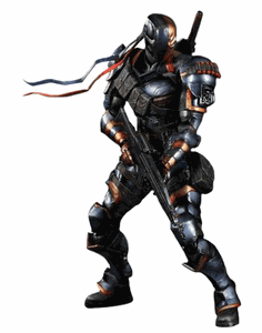 Batman Arkham Origins Play Arts Kai Deathstroke Figure