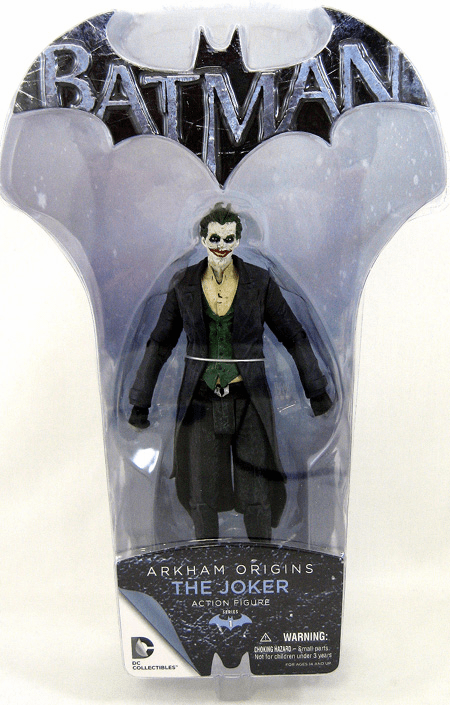 Batman Arkham Origins The Joker Action Figure