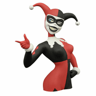 Batman The Animated Series Harley Quinn Bust Coin Bank