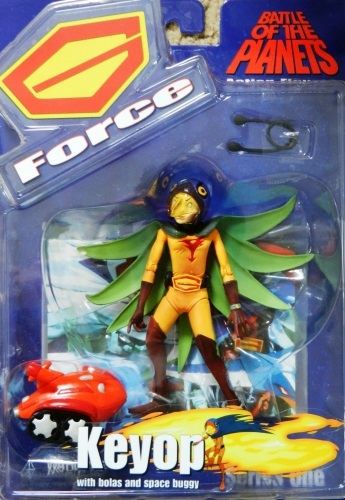 Battle of the Planets Series 1 Keyop Figure