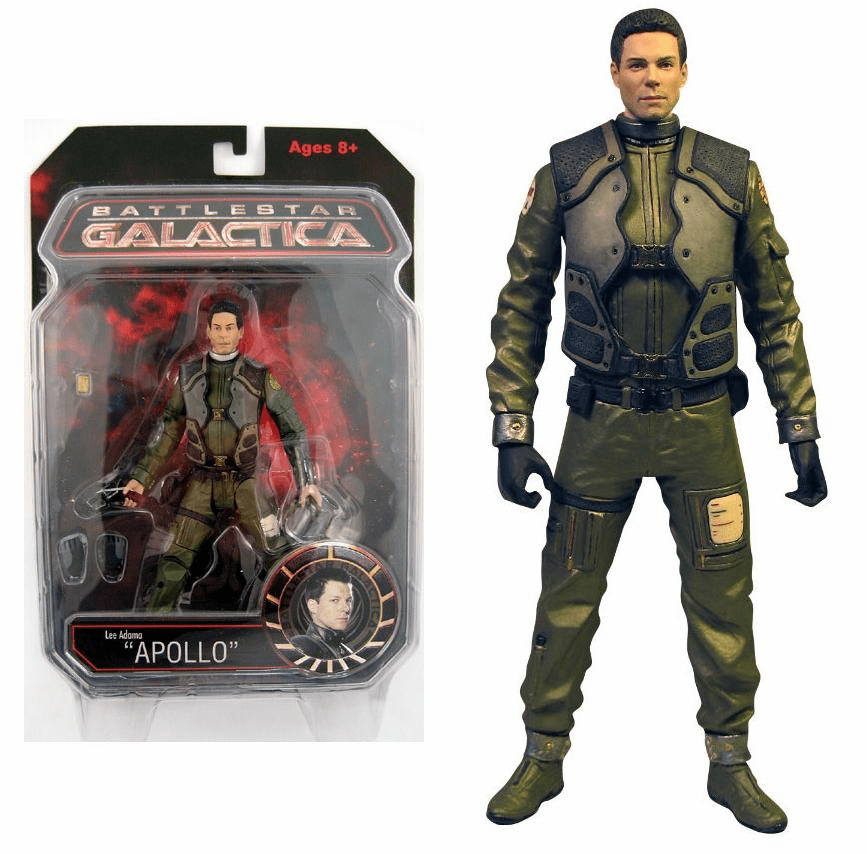 Battlestar Galactica Series 1 Pilot Apollo Action Figure