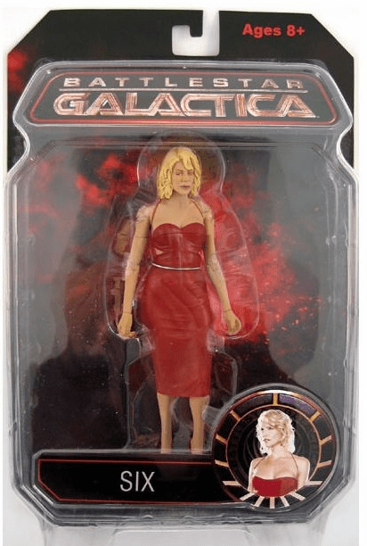 Battlestar Galactica Series 1 Red Dress Six Action Figure