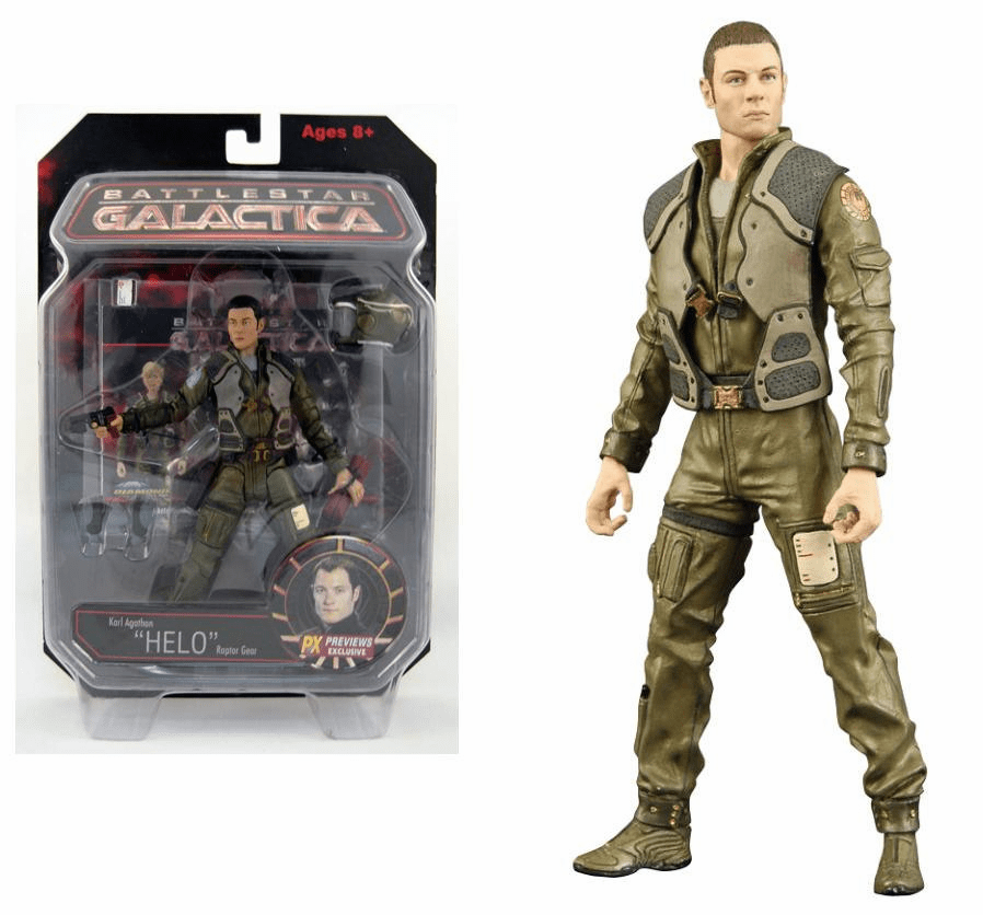 Battlestar Galactica Series 2 Previews Exclusive Pilot Helo Figure