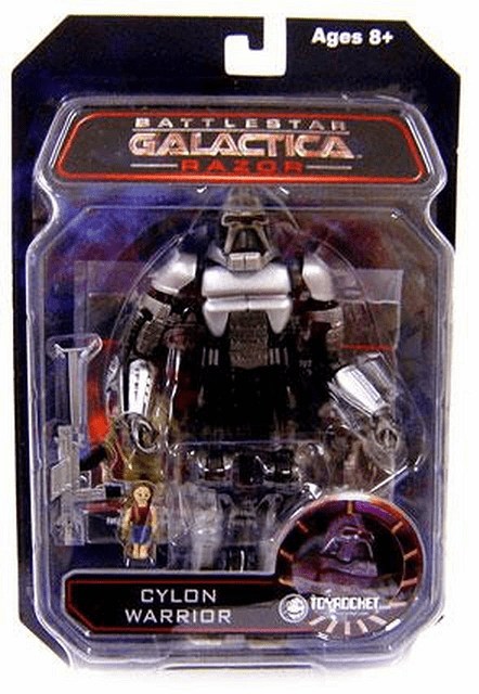 Battlestar Galactica Series 3 Razor Cylon Warrior Figure