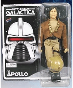 Bif Bang Pow! Battlestar Galatica Retro Captain Apollo Figure