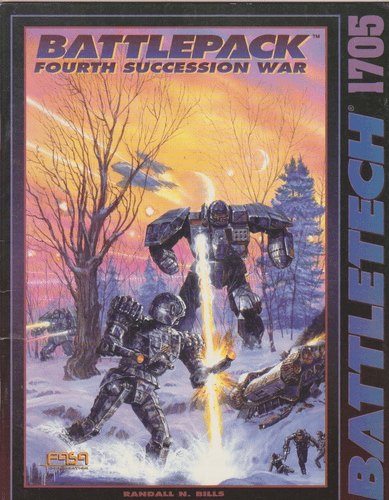 Battletech Battlepack Fourth Succession War RPG Book