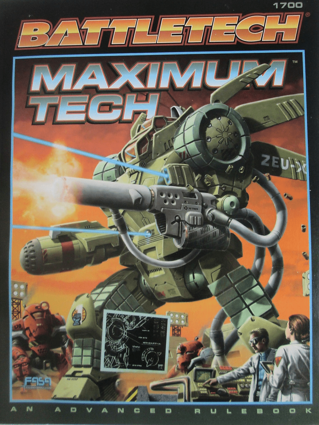 Battletech Maximum Tech RPG Book