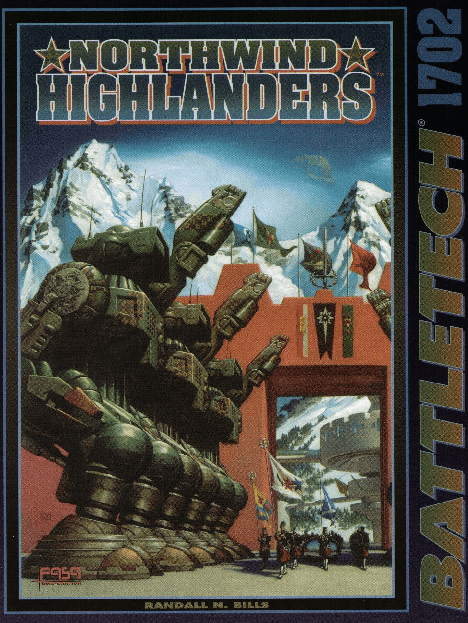 Battletech Northwind Highlanders RPG Book