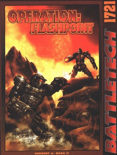 Battletech Operation Flashpoint RPG Book