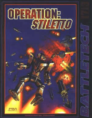 Battletech Operation Stiletto RPG Book
