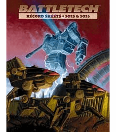 Battletech Record Sheets 3025 & 3026