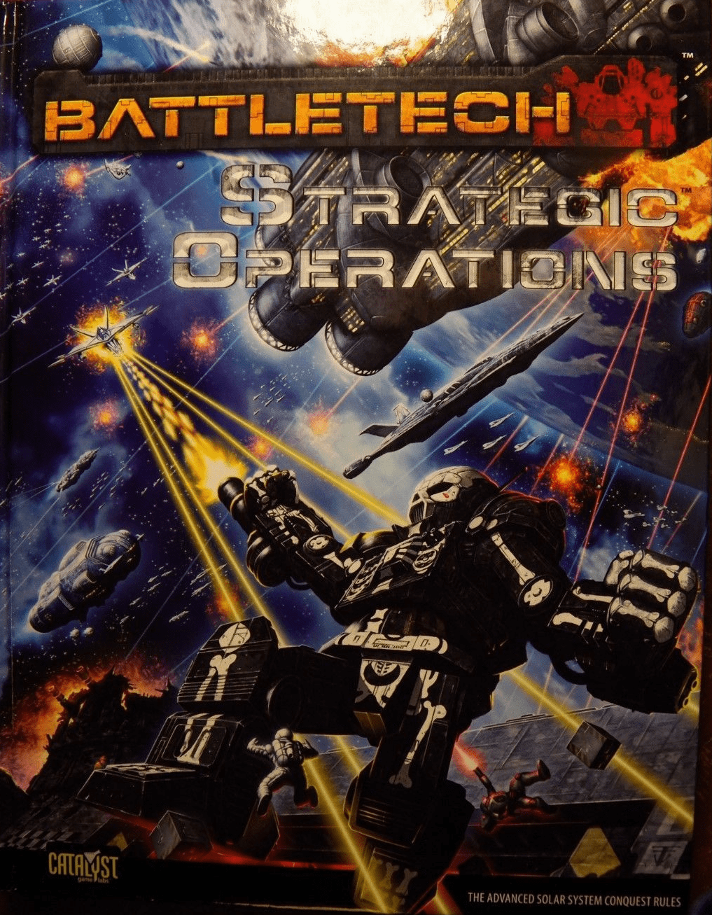 Battletech Strategic Operations RPG Book