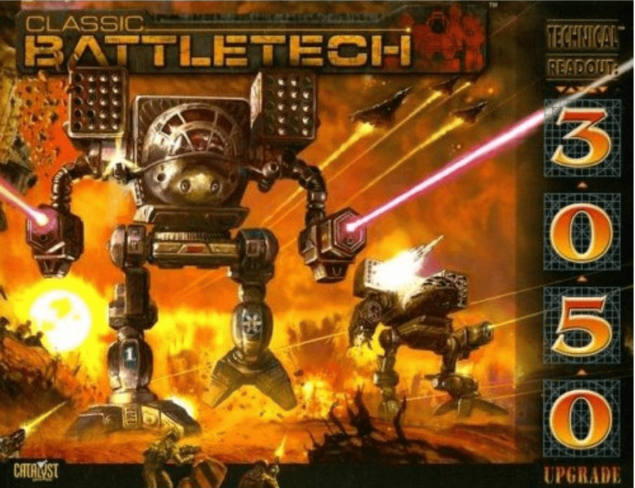 Battletech Technical Readout 3050 Upgrade RPG Book