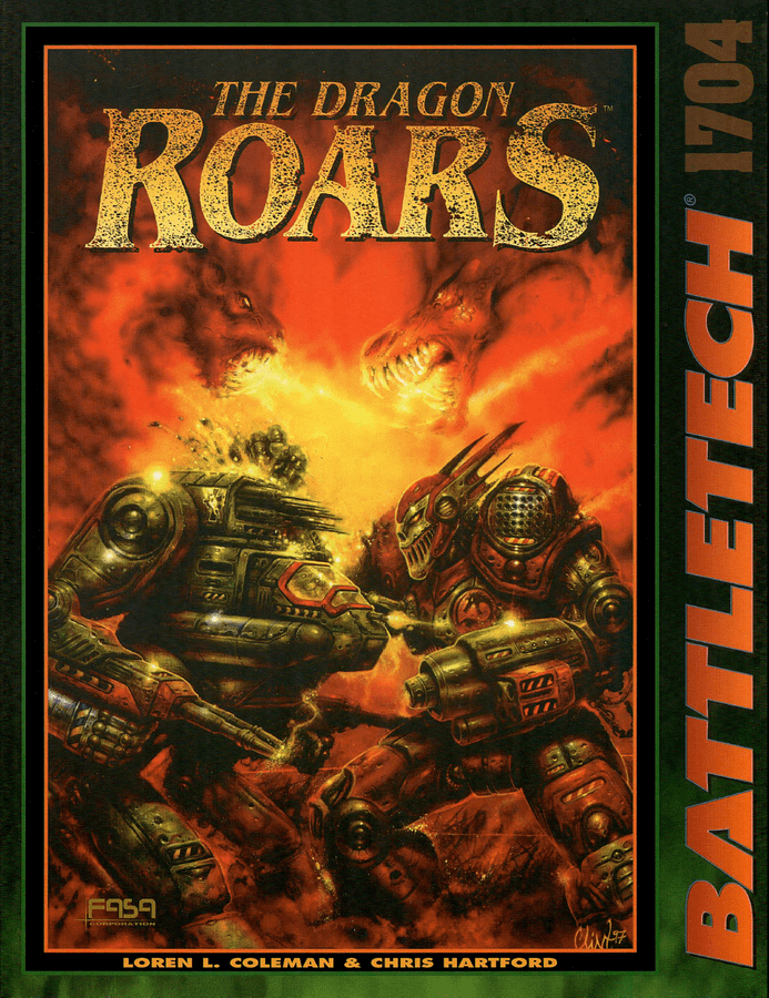 Battletech The Dragon Roars RPG Book