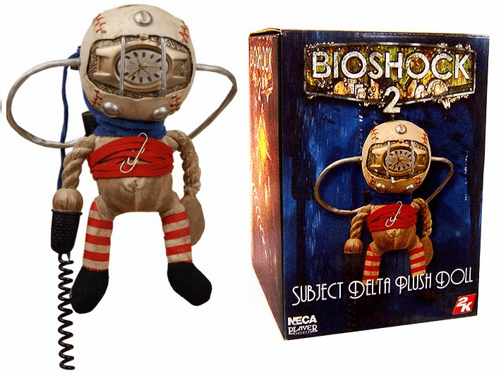 Bioshock Subject Delta Plush Doll