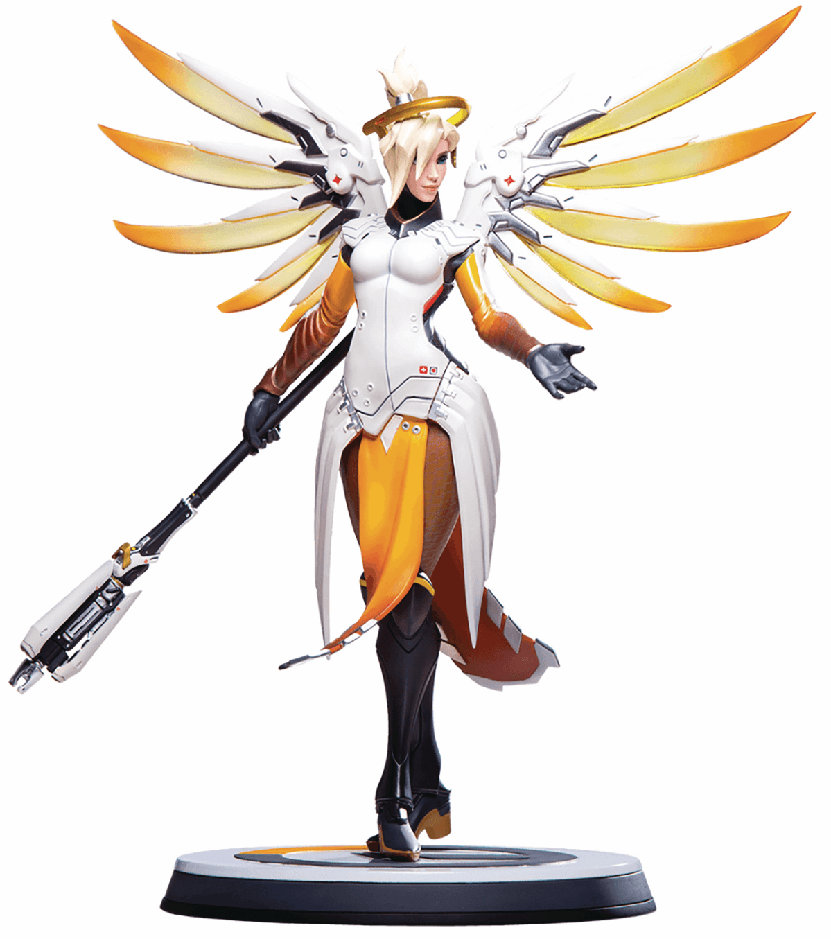 Blizzard Overwatch Mercy Statue