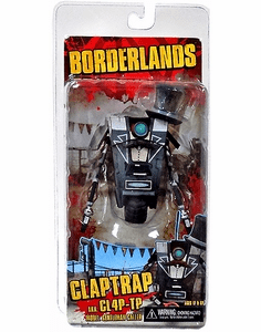 Borderlands Claptrap Model Gentleman Caller Figure