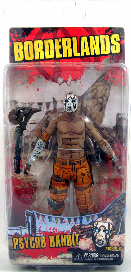 Borderlands Psycho Bandit Action Figure