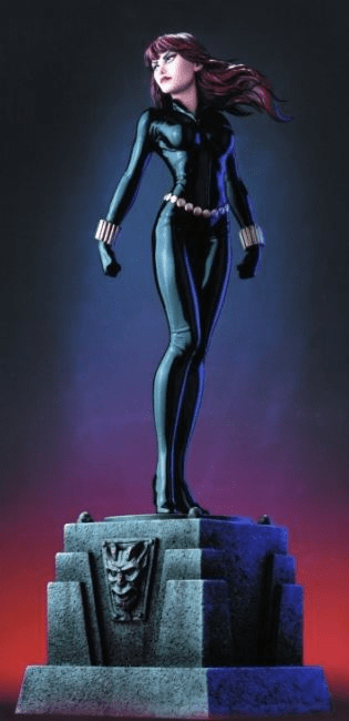 Bowen Designs Black Widow Statue