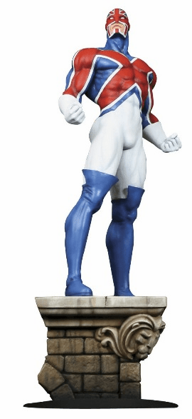 Bowen Designs Captain Britain Statue