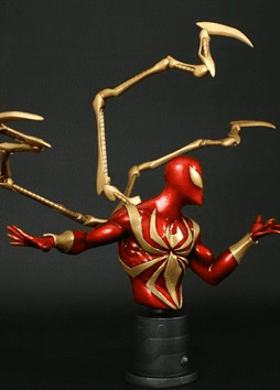 Bowen Designs Marvel Iron Spider-Man Mini Bust