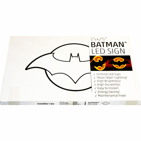 Brandlite Batman Logo LED Sign