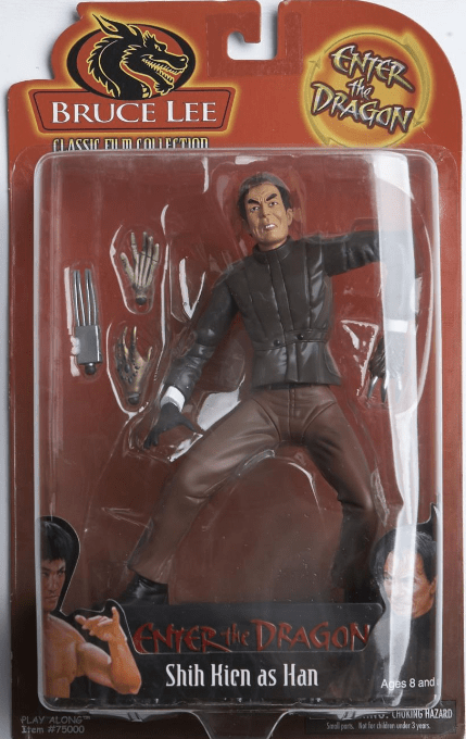 Bruce Lee Enter the Dragon Shih Hien as Han Figure
