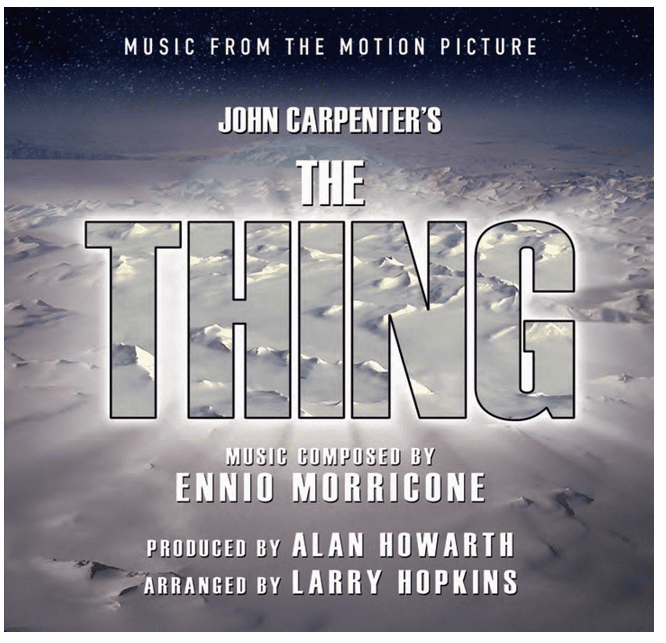 BSX Records John Carpenter's The Thing Audio CD