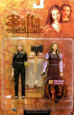Buffy the Vampire Slayer The Gift Dawn & Glory Action Figures