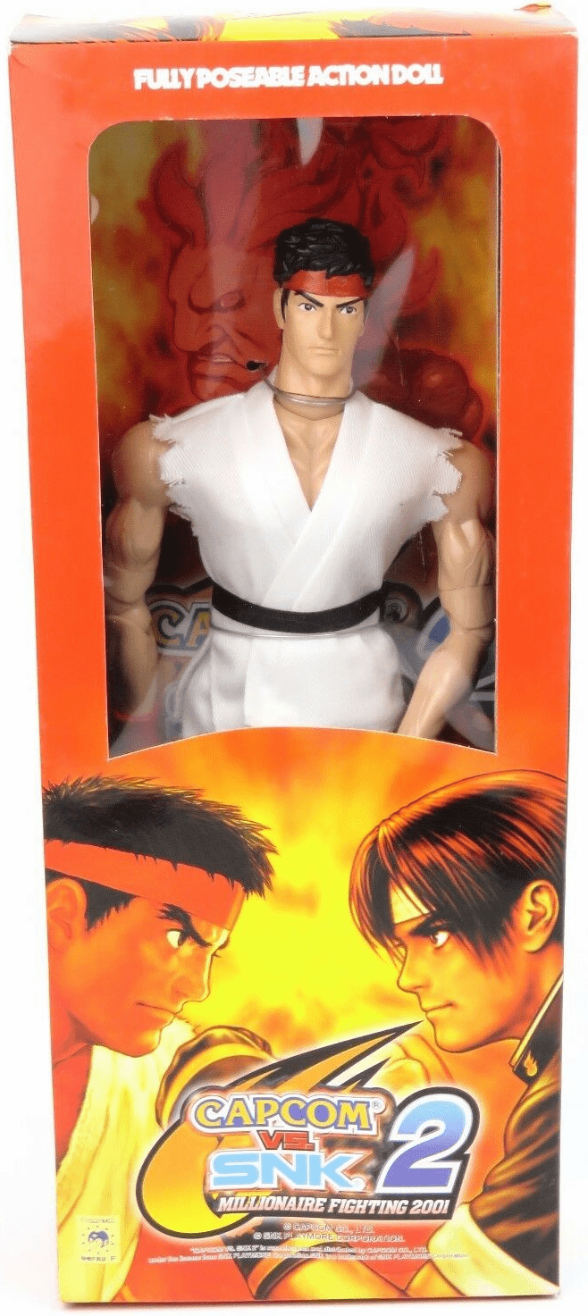 Capcom vs. SNK 2 Millionaire Fighting 2001 Ryu Figure