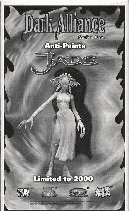 Chaos Comics Dark Alliance Jade Anti-Paint Figure