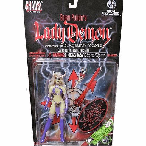 Chaos! Comics Moore Action Collectibles Glow-in-the-Dark Lady Demon Figure