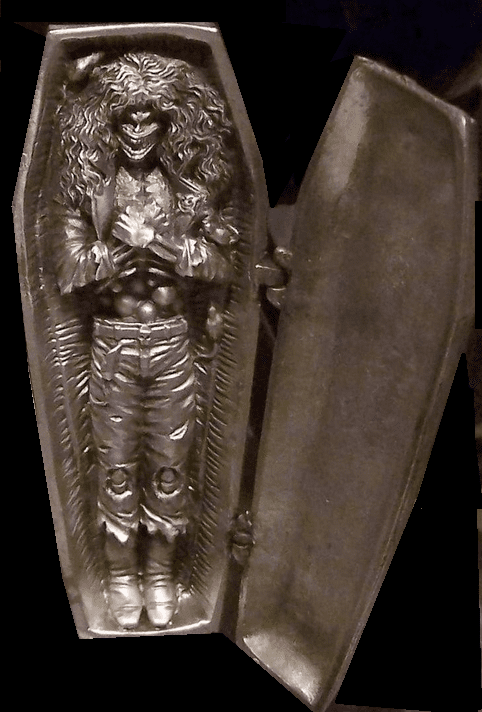 Moore Creations Chaos Comics Evil Ernie Pewter Coffin Figurine