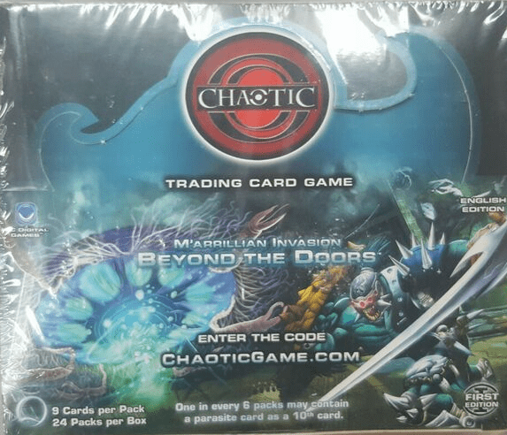 Chaotic M'arrillian Invasion Beyond the Doors Sealed Booster Box