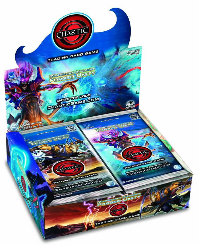 Chaotic M'arrillian Invasion Forged Unity Sealed Booster Box
