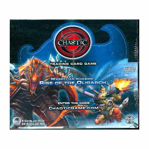 Chaotic M'arrillian Invasion Rise of the Oligarch Sealed Booster Box