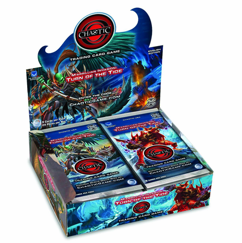 Chaotic M'arrillian Invasion Turn of the Tide Sealed Booster Box