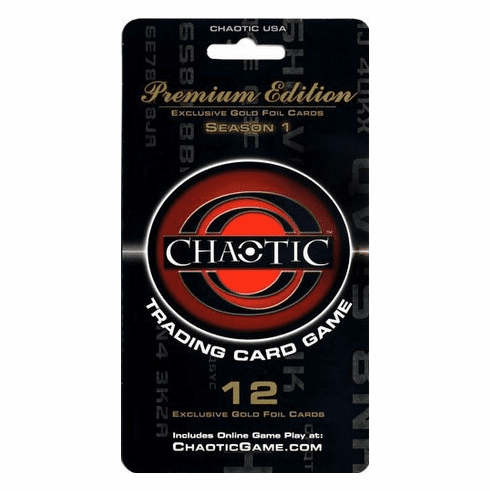 Chaotic Premium Edition Exclusive Gold Foil Card Pack