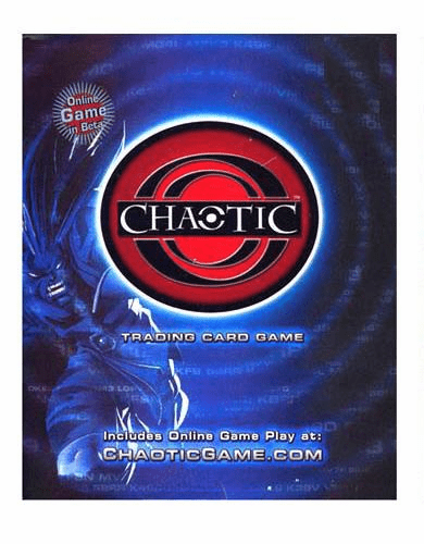 Chaotic Series 1 Dawn of Perim Overworld Starter Deck