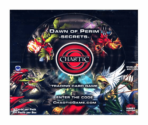 Chaotic Series 1 Dawn of Perim Secrets 1st Edition Booster Box