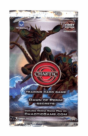 Chaotic Series 1 Dawn of Perim Secrets 1st Edition Booster Pack