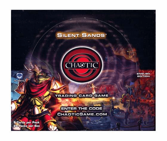 Chaotic Series 3 Silent Sands Booster Box