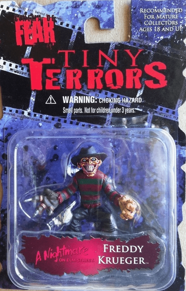 Cinema of Fear Tiny Terror Freddy Krueger Mini Figure