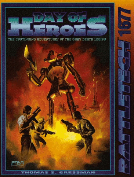 Classic Battletech Day of Heroes RPG Book