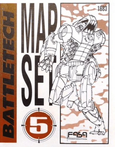 Classic Battletech Miniatures Map Set #5