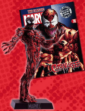 Classic Marvel Figurine Collection Magazine Carnage #70
