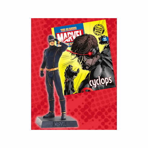 Classic Marvel Figurine Collection Magazine Cyclops #25