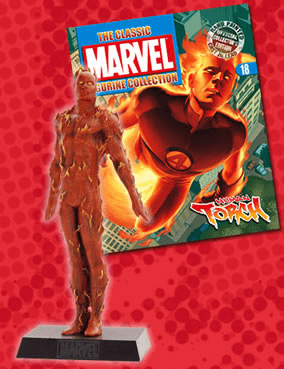 Classic Marvel Figurine Collection Magazine Human Torch #18