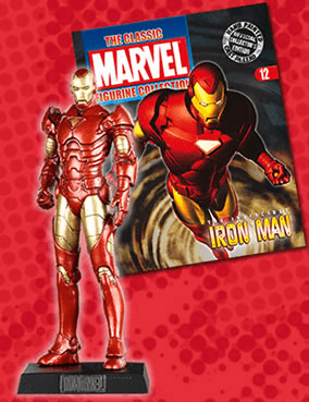 Classic Marvel Figurine Collection Magazine Iron Man #12