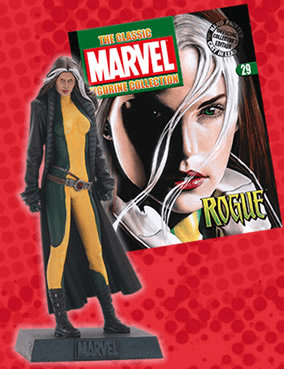 Classic Marvel Figurine Collection Magazine Rogue #29